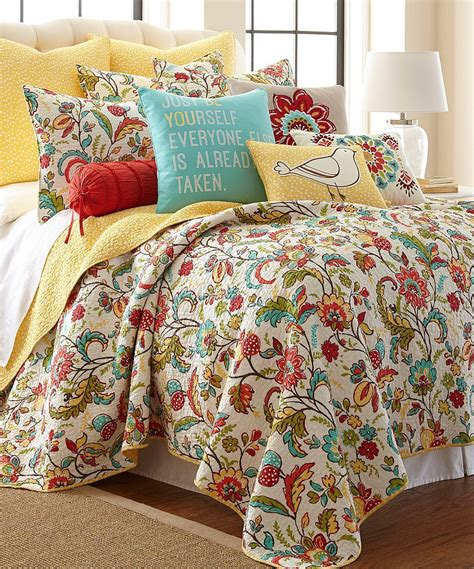 Bedroom Quilt Sets by Another Great Find On Zulily Meadow Quilt Set By Levtex