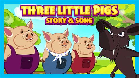 three pigs story amp song for songs and story 303 | maxresdefault