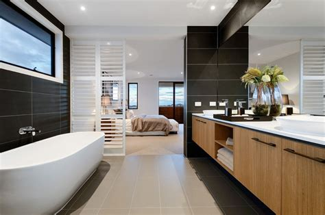 22 captivating contemporary bathroom designs that will
