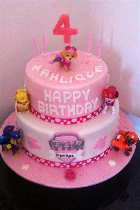 paw patrol cake  girls girl cakes birthday cake