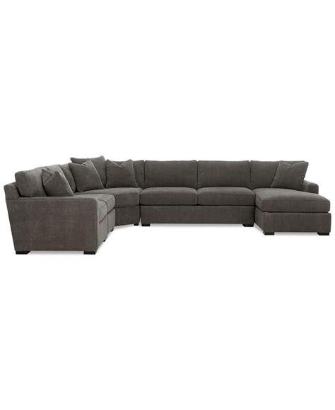 radley sectional sofa macys radley 5 fabric chaise sectional sofa