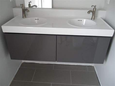 bathroom sink ideas ikea godmorgon vanity in high gloss grey we will prob put
