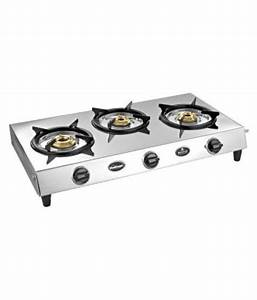 Sunflame Sleek 3 Burner Manual Gas Stove Price In India