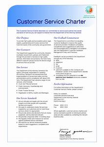 best photos of department charter templates name change With customer care charter template
