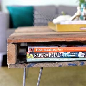 DIY: Pallet Coffee Table by 1001 Pallets