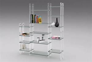 Bibliothèque En Verre : mobilier transparent meuble transparent table objet m thacrylate ~ Teatrodelosmanantiales.com Idées de Décoration