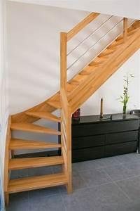 Escalier 3 4 Tournant : escalier bois 1 4 tournant inox labenne 40 vente d ~ Dailycaller-alerts.com Idées de Décoration