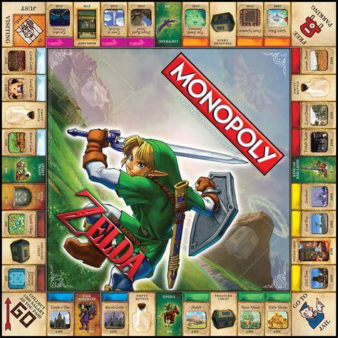 Monopoly The Legend Of Zelda Collectors