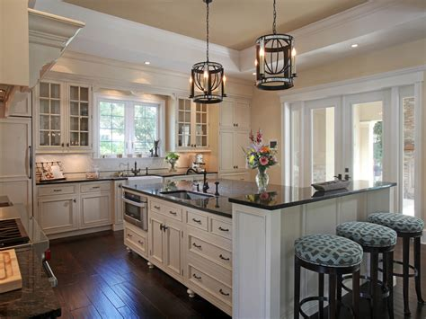 High Quality Kitchen With Bars Kitchen Traditional And