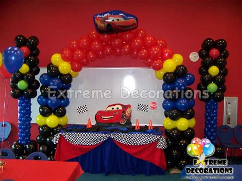 Disney Cars Birthday Decoration Ideas Elitflat