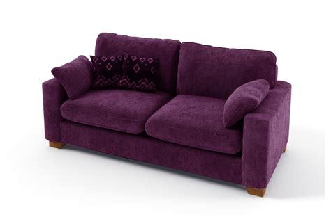 canap violet convertible canapé 2 places convertible en tissu de qualité cosy