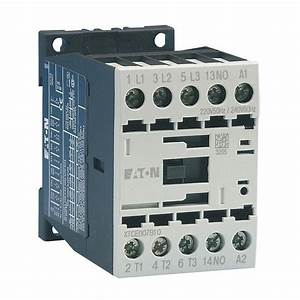 Eaton Contactor With Coil For Iec Starter  Ecx09l  208v