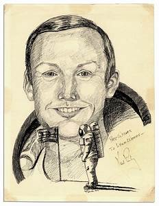 Neil Armstrong Drawing - Pics about space