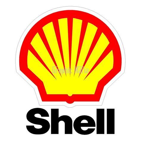 shell logo decal