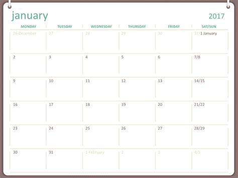powerpoint calendar template 2017 microsoft calendar templates 2017 187 calendar template 2018