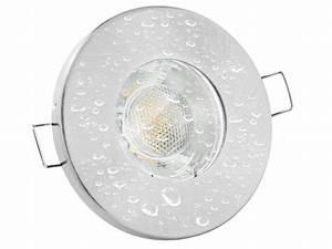 Led Leuchtmittel Flach : led einbaustrahler ip65 neutralwei gu10 3w 230v rund starr flach ~ Frokenaadalensverden.com Haus und Dekorationen