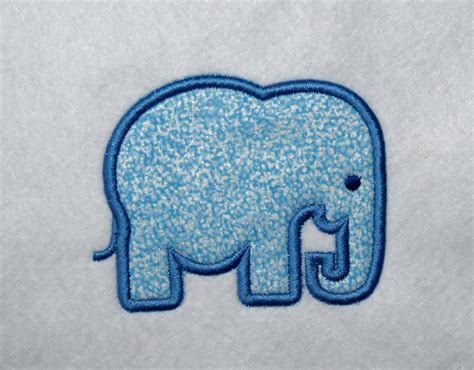 Embroidery Machine Applique Designs by Elephant Applique Machine Embroidery Design Embroidery