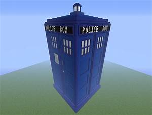 Giant TARDIS Minecraft Project