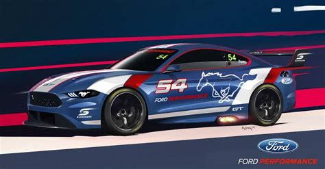 New Ford Supercar by Look At The New Ford Mustang Supercar Carsguide
