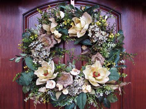 traditional magnolia wreath hgtv