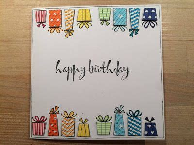 gummiapan geburtstag handmade birthday cards