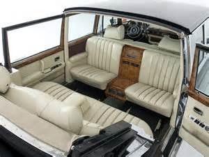 Mercedes 600 Pullman Interior