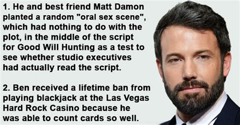 Good Will Hunting Meme - little known surprising facts about ben affleck