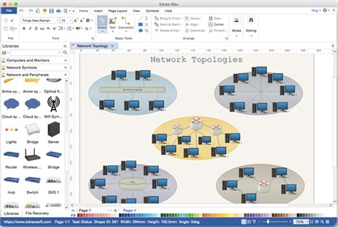 Best Network Diagram Software Mac Visio Like