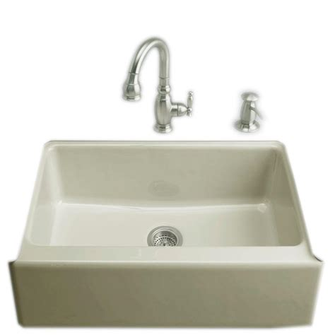 kohler dickinson farmhouse sink kohler dickinson undermount farmhouse apron front cast