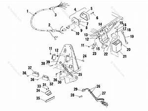 Polaris Atv 2000 Oem Parts Diagram For Electrical  Taillight A00ch33ab