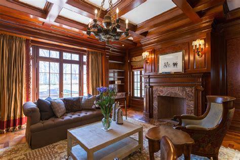 $6.5 Million English Tudor Stone Mansion In Matinecock, NY