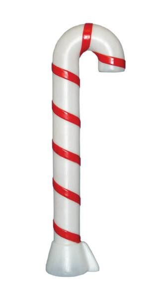 plastic candy cane yard decorations decorations illuminated s general foam plastics