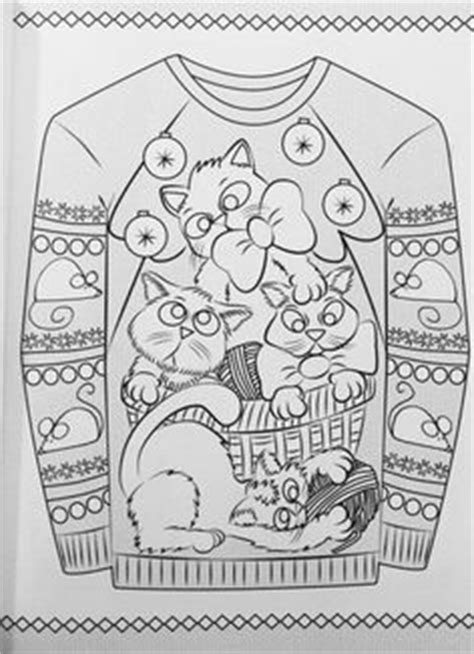 Coloring Pages (fashion) On Pinterest  Ugly Holiday Sweater, Coloring Books And Christmas Jumpers