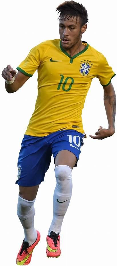 Neymar Brasil Jogador Figura Render Jr Mundial