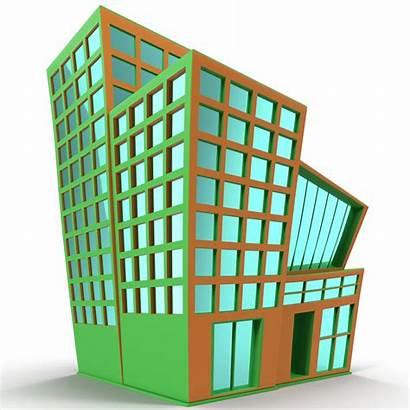 Cartoon Building 3d Models Turbosquid Max Obj