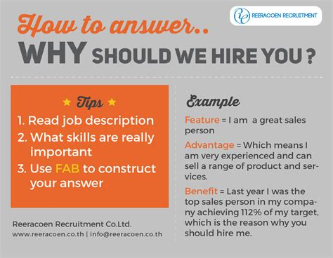 Why Should We Hire You Answers by Helpful Tip On Answering The Most Frequent