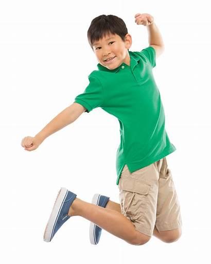 Kid Boy Toddler Jumping Transparent Nosotros Children