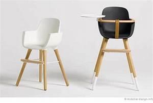 Chaise Haute Bébé Design : une chaise haute design pour enfant ~ Teatrodelosmanantiales.com Idées de Décoration