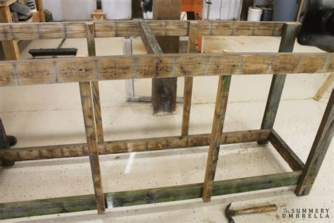 how to build a potting bench how to build a potting bench with reclaimed wood