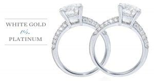 Sashka jewelry provides insurance coverage through lavalier. The Difference Between Platinum And White Gold Settings