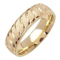 wedding ring with name engraved yellow gold band wedding rings depot