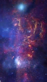 Purple and Blue Space Nebula