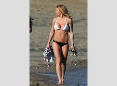 Gemma Atkinson in Bikini on a Beach in Marbella 05262018