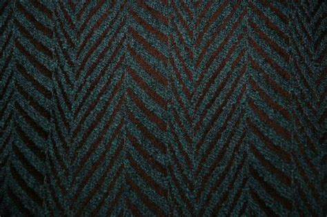 Teal And Brown Upholstery Fabric by Brown Teal Herringbone Upholstery Fabric 12 Yds Ebay