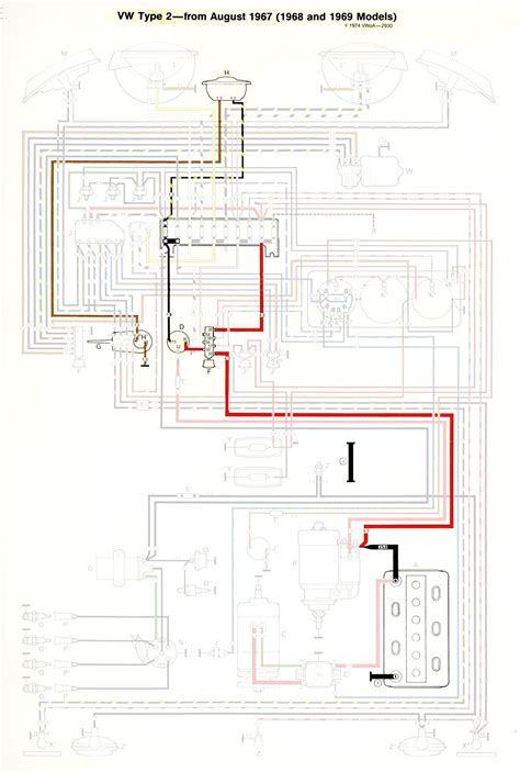thesamba type 2 wiring diagrams