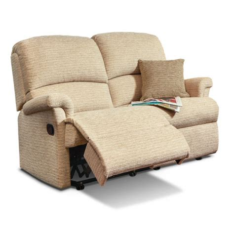 Small Sofa Recliner by Small Power Reclining 2 Seater Sofa Sherborne Upholstery
