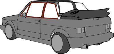 Beetle Cabrio Ohne Garage by Dichtungen Golf I Cabrio Dichtungen Golf I Wassergek 252 Hlt