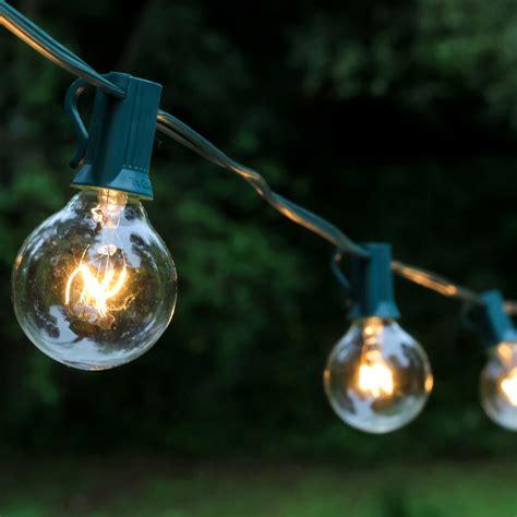 outdoor globe string lights best outdoor globe string lights 25ct lumabase