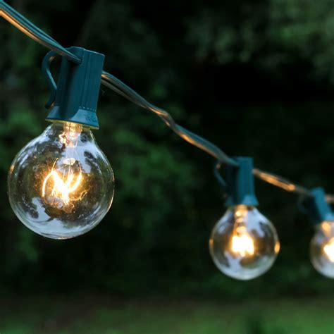 Best Outdoor Globe String Lights 25ct Lumabase