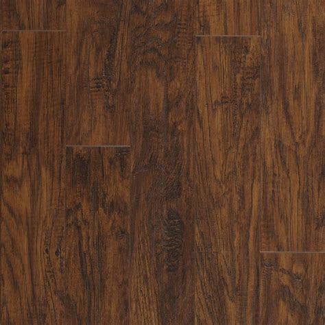 prego floor shop pergo max 5 35 in w x 3 96 ft l handscraped richland handscraped laminate wood planks at